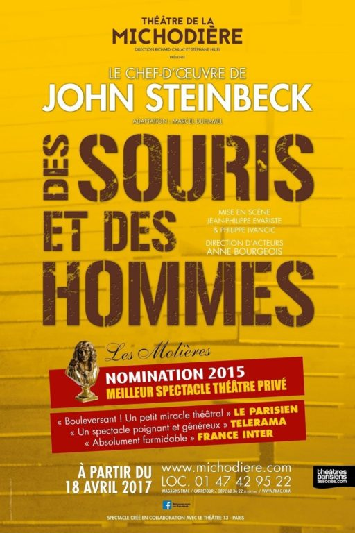 Steinbeck foule les planches